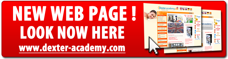 massage school Dexter Academy new web page